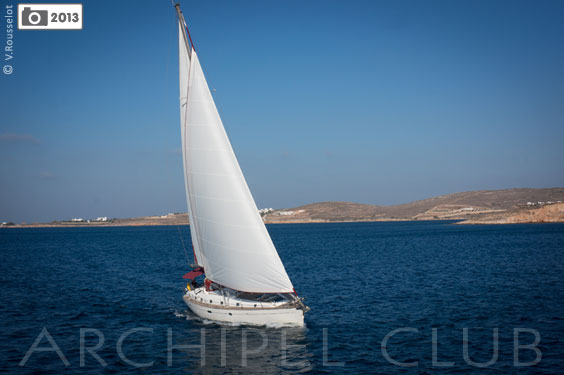 croisiere cyclades voilier