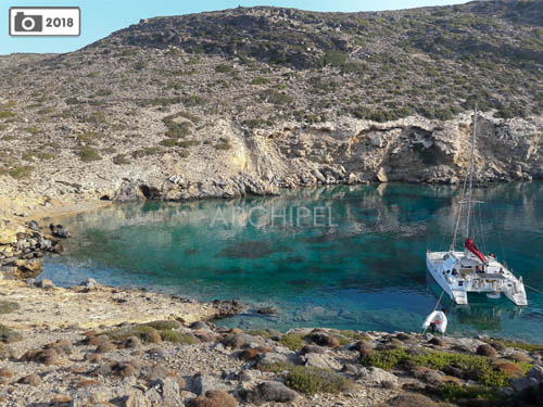 location catamaran paros grece